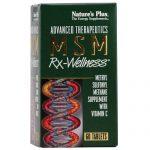 Nature's Plus MSM Rx-Wellness - 2,000 mg - 60 Tabletes   Comprar Suplemento em Promoção Site Barato e Bom