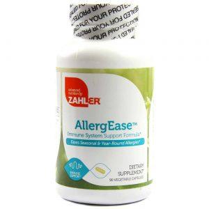 AllergEase Suporte à Alergias Crônicas e Sazonais Zahlers 90 Cápsulas   Comprar Suplemento em Promoção Site Barato e Bom