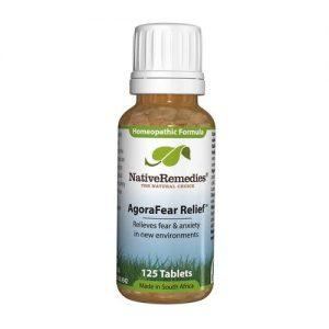 Native Remedies Agorafear Relief - 180 Tabletes   Comprar Suplemento em Promoção Site Barato e Bom