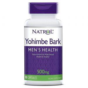 Yohimbe Bark 500 mg Natrol 90 Cápsulas   Comprar Suplemento em Promoção Site Barato e Bom