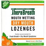 TheraBreath Mouth Wetting Fresh Breath Lozenges - 24 Lozenges   Comprar Suplemento em Promoção Site Barato e Bom