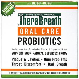 TheraBreath Oral Care Probiotics, Citrus - 8 Lozenges   Comprar Suplemento em Promoção Site Barato e Bom