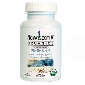 Nova Scotia Orgânicos Finally, Dormir! - 60 Cápsulas   Comprar Suplemento em Promoção Site Barato e Bom