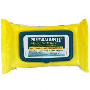 Preparation H Medicated Wipes - 48 Wipes   Comprar Suplemento em Promoção Site Barato e Bom