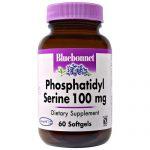 Bluebonnet Nutrition Phosphatidyl Serine - 100 mg - 60 Cápsulas em Gel   Comprar Suplemento em Promoção Site Barato e Bom