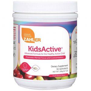 Zahlers KidsActive, Fruit Punch - 6.7 oz Powder   Comprar Suplemento em Promoção Site Barato e Bom
