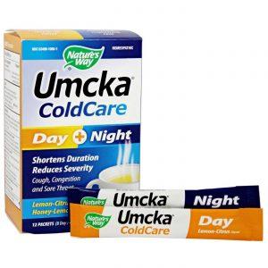 Nature's Way Umcka ColdCare, Limão-Citrus mais Mel-Limão - 12 Packets (8 Day/4 Night)   Comprar Suplemento em Promoção Site Barato e Bom