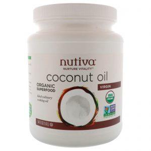 Nutiva, Óleo de coco virgem orgânico, 1,6 l   Comprar Suplemento em Promoção Site Barato e Bom