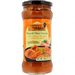 Kitchens of India, Punjabi Tikka Masala, Rich Creamy Tomato Cooking Sauce, Mild, 12.2 oz (347 g)   Comprar Suplemento em Promoção Site Barato e Bom