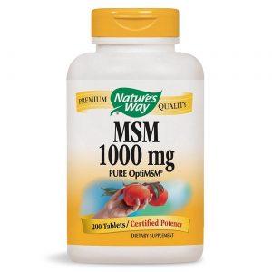 Nature's Way MSM 1000 mg 200 Cápsulas Vegetarianas   Comprar Suplemento em Promoção Site Barato e Bom
