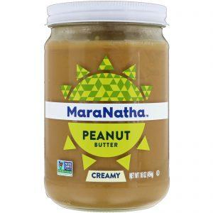MaraNatha, Peanut Butter, Creamy, 16 oz (454 g)   Comprar Suplemento em Promoção Site Barato e Bom