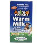Nature's Plus Desfile animal Chewables leite morno 30 mastigáveis   Comprar Suplemento em Promoção Site Barato e Bom