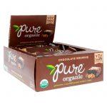 Pure Bar, Orgânico, Brownie de Chocolate, 12 Barras, 1.7 oz (48 g) Cada   Comprar Suplemento em Promoção Site Barato e Bom