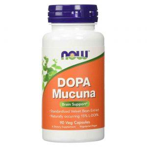 DOPA Mucuna Now Foods 90 Cápsulas Vegetarianas   Comprar Suplemento em Promoção Site Barato e Bom