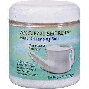 Ancient Secrets Nasal Cleansing Sal Jar 10 OZ   Comprar Suplemento em Promoção Site Barato e Bom