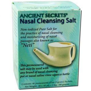 Ancient Secrets Nasal Cleansing Sal Pacotes 40 PKT   Comprar Suplemento em Promoção Site Barato e Bom
