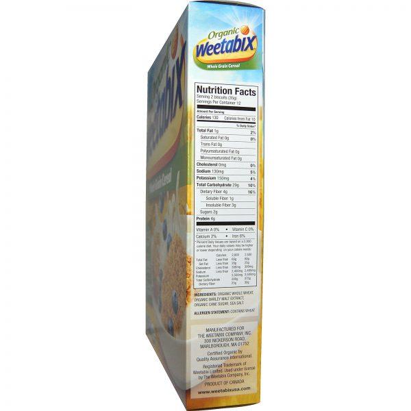 Weetabix, Cereal Integral, Orgânico, 14 oz (400 g)   Comprar Suplemento em Promoção Site Barato e Bom