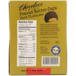 Chocolove, Copos de manteiga de amêndoa, chocolate escuro, pacotes de 12 - 2 xícaras, 34 g (1,2 oz) cada um   Comprar Suplemento em Promoção Site Barato e Bom