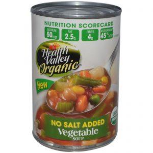 Health Valley, Orgânico, Sopa de Vegetais, Sem Adição de Sal, 15 oz (425 g)   Comprar Suplemento em Promoção Site Barato e Bom