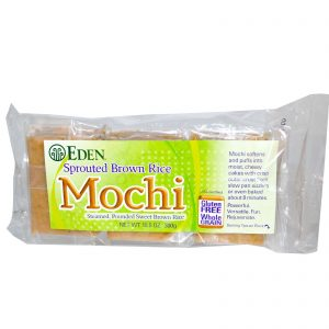 Eden Foods, Arroz Integral Germinado, Mochi, 10,5 onças (300 g)   Comprar Suplemento em Promoção Site Barato e Bom