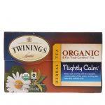 Twinings, Herbal Tea, Nightly Calm, 20 Individual Tea Bags, 1.20 oz (34 g)   Comprar Suplemento em Promoção Site Barato e Bom