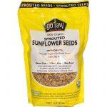Go Raw, Sementes de Girassol Germinadas Orgânicas, 454 g (1 lb)   Comprar Suplemento em Promoção Site Barato e Bom