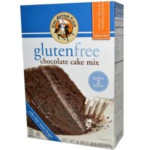 King Arthur Flour, Mistura para Bolo de Chocolate Sem Glúten, 22 oz (624 g)   Comprar Suplemento em Promoção Site Barato e Bom