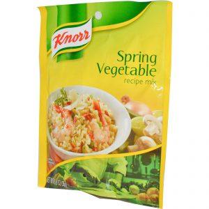 Knorr, Mistura para Receitas Vegetais da Primavera, 0.9 oz (26 g)   Comprar Suplemento em Promoção Site Barato e Bom