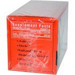 Triple Leaf Tea, Colesteroide, Chá preto chinês, 20 sacos de chá, 1,4 oz (40 g)   Comprar Suplemento em Promoção Site Barato e Bom