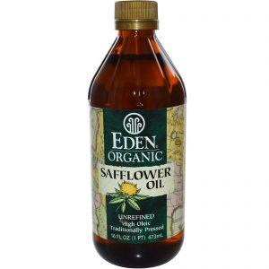 Eden Foods, Óleo de Cártamo Orgânico, Não Refinado, 16 onças fluidas (473 mL)   Comprar Suplemento em Promoção Site Barato e Bom