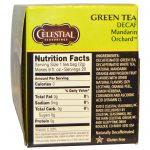 Celestial Seasonings, Chá Verde, Descafeinado, Pomar de Tangerina, 20 Saquinhos de Chá 1,2 oz (34 g)   Comprar Suplemento em Promoção Site Barato e Bom