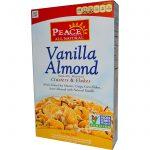 Peace Cereal, Concentrados & Flocos, Baunilha e Amêndoa, 11 oz (312 g)   Comprar Suplemento em Promoção Site Barato e Bom