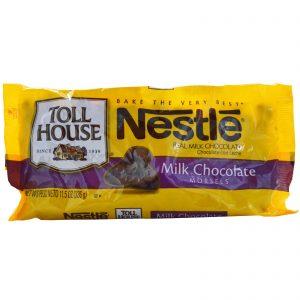 Nestle Toll House, Gotas de Chocolate ao Leite, 11,5 onças (326 g)   Comprar Suplemento em Promoção Site Barato e Bom
