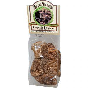 FungusAmongUs, Shiitake Orgânico, 1 oz (28 g)   Comprar Suplemento em Promoção Site Barato e Bom