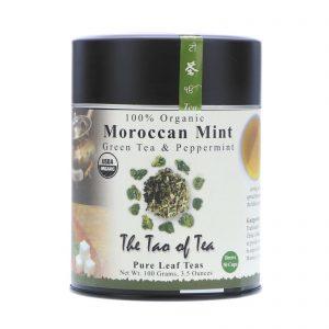 The Tao of Tea, Chá Verde 100% Orgânico, Menta Marroquina, 3,5 onças (100 g)   Comprar Suplemento em Promoção Site Barato e Bom