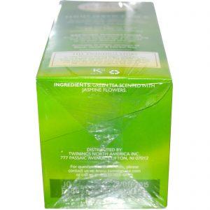 Twinings, Chá Verde, Jasmim, 25 sachês de chá, 1.76 oz (50 g)   Comprar Suplemento em Promoção Site Barato e Bom