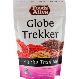 Foods Alive, Mistura para Pegar a Estrada, Globe Trekker, 8 oz (227 g)   Comprar Suplemento em Promoção Site Barato e Bom