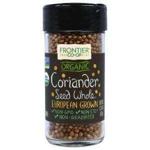 Frontier Natural Products, Semente de Coentro Orgânico, Integral, Cultivado na Europa, 1,31 onças (37 g)   Comprar Suplemento em Promoção Site Barato e Bom