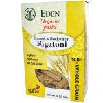 Eden Foods, Rigatoni de Trigo Virgem & Trigo Sarraceno, Orgânico, 12 onças (340 g)   Comprar Suplemento em Promoção Site Barato e Bom