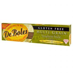DeBoles, Sem Glúten, Macarrão Estilo Espaguete Multigrão, 8 oz (226 g)   Comprar Suplemento em Promoção Site Barato e Bom