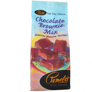 Pamela's Products, Mistura para Brownie de Chocolate, 16 oz (454 g)   Comprar Suplemento em Promoção Site Barato e Bom