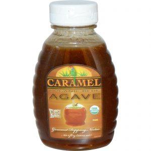 Fun Fresh Foods, Agave-Azul Orgânico, Néctar de Gotejamento Gourmet, Caramelo,8 fl oz (236,64 ml)   Comprar Suplemento em Promoção Site Barato e Bom