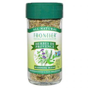Frontier Natural Products, Herbes de Provence, Mistura de Condimentos, 0,85 onças (24 g)   Comprar Suplemento em Promoção Site Barato e Bom