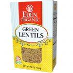 Eden Foods, Orgânica, Lentilha Verde, 454 g (16 oz)   Comprar Suplemento em Promoção Site Barato e Bom