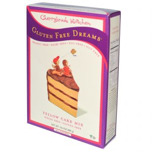 Cherrybrook Kitchen, Sonhos Livres de Glúten, Mistura para Bolo Amarelo, 16.4 oz (464 g)   Comprar Suplemento em Promoção Site Barato e Bom