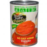 Health Valley, Orgânico, Sopa de Tomate, Sem Adição de Sal, 15 oz (425 g)   Comprar Suplemento em Promoção Site Barato e Bom