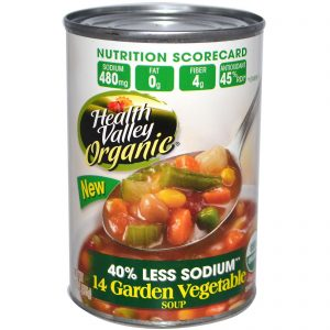 Health Valley, Orgânica, Sopa de 14 Vegetais de Horta, 15 oz (425 g)   Comprar Suplemento em Promoção Site Barato e Bom