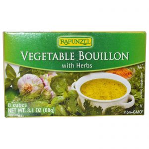 Rapunzel, Caldo Vegano de Legumes com Ervas, 8 Cubos, 88 g (3,1 oz)   Comprar Suplemento em Promoção Site Barato e Bom