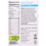 Nutiva, Proteína Vegetal Orgânica, Sabor Baunilha, 10 embalagens, 34g cada   Comprar Suplemento em Promoção Site Barato e Bom