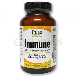 Pure Essence Labs Imune 60 Tabletes   Comprar Suplemento em Promoção Site Barato e Bom